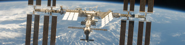 ISS image. Credit: NASA